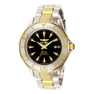 Invicta Men's 7037 Signature Automatic 3 Hand Black Dial Watch