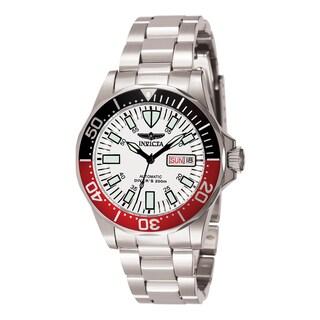 Invicta Men's 7044 Signature Automatic 3 Hand White Dial Watch