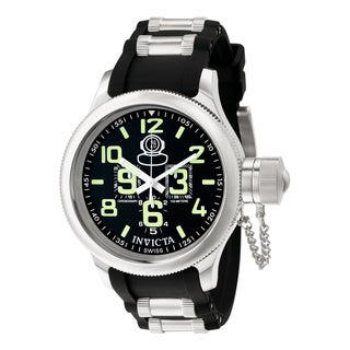 Invicta Men's 7237 Russian Diver Quartz Chronograph Black Dial Watch