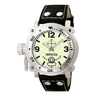 Invicta Men's 7273 Signature Quartz 3 Hand Light Green Dial Watch