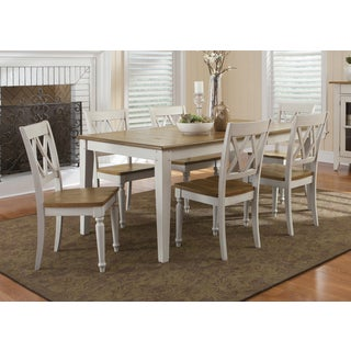 Fresco Two-Tone Transitional Dinette Table
