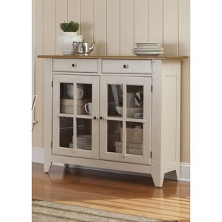 Fresco Two-Tone Transitional Server