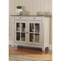 Al Fresco Two-Tone Transitional Server