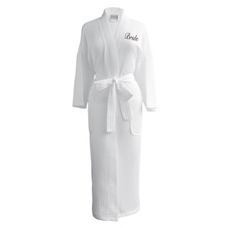 Conrad Egyptian Cotton Bride Waffle Spa Robe