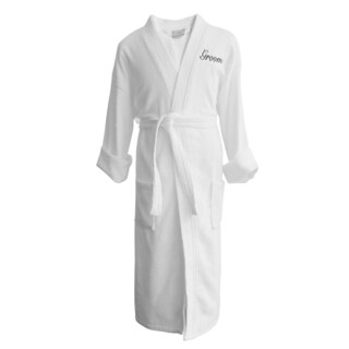 Wyndham Egyptian Cotton Groom Terry Spa Robe