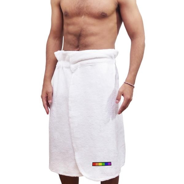Men's Belmond LGBT Bath Wrap - Flag