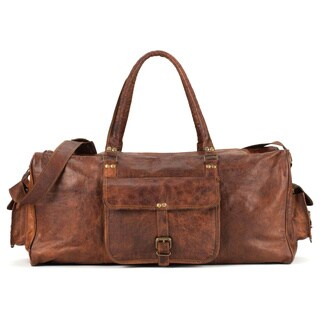 Satch and Fable DXL 24-inch Leather Duffel Bag
