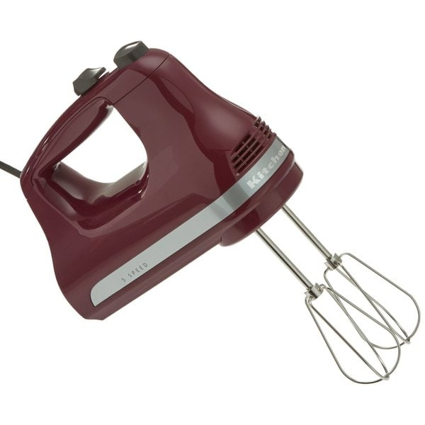 Shop Kitchenaid Khm512by 5 Speed Ultra Power Hand Mixer