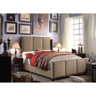 Moser Bay Furniture Fresco Mocha Queen Upholstered Bed