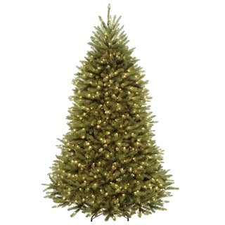 dunhill fir tree with dual color led lights - Christmas Trees Clearance