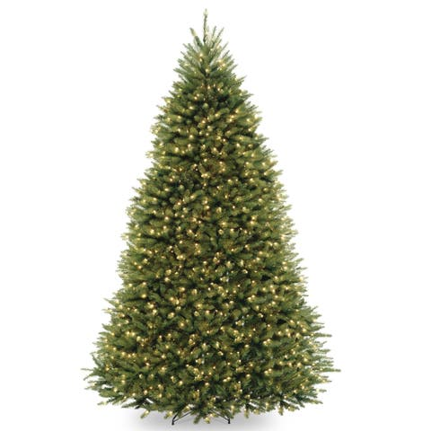 9 ft. PowerConnect Dunhill Fir with Dual Color LED Lights