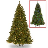 7.5 ft. PowerConnect™ North Valley Spruce Tree with Dual Color® LED Lights