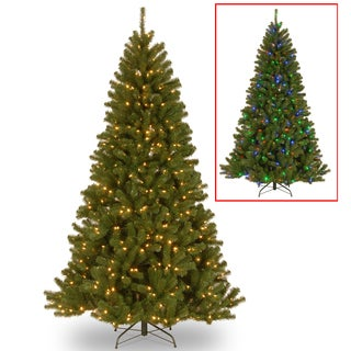 7.5 ft. PowerConnect North Valley Spruce Tree with Dual Color® LED Lights