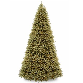12 ft. Downswept Douglas Fir Tree with Clear Lights