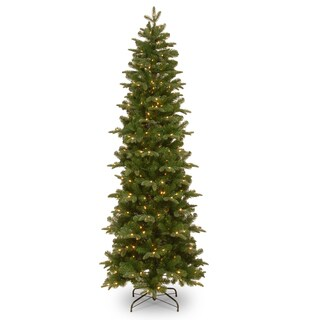 7.5 ft. Prescott Pencil Slim Tree with Clear Lights - 7.5'