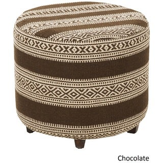 "Chamond Geometric Cocktail Ottoman (20 x 20"" x 18)"