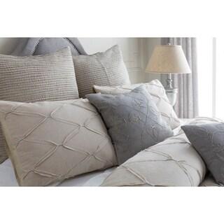 Garcia Solid Cotton/ Linen 3-piece Duvet Cover Set