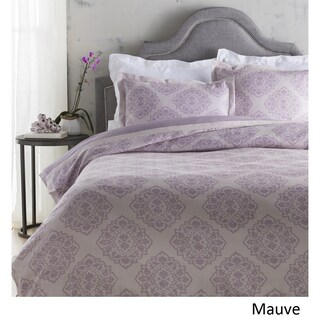 Sheena Floral Linen/ Cotton Duvet Cover Set (2 options available)