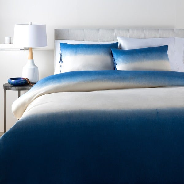 Ronnie Abstract Cotton/Flax Duvet Cover