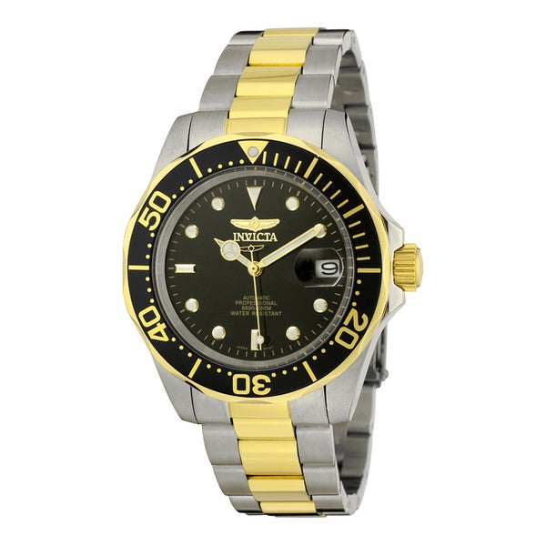 aeabe0bdd Shop Invicta Men's 8927 Pro Diver Automatic 3 Hand Black Dial Watch - Free  Shipping Today - Overstock - 10631658