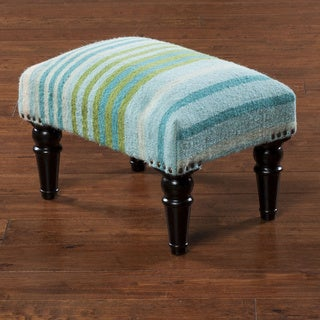 "Link to Antioch Striped Cocktail Ottoman (12 x 12"" x 18) Similar Items in Living Room Furniture"