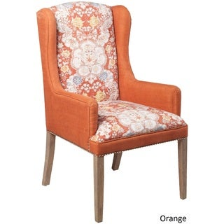 """Bourges Floral Arm Chair (23.6"""" x 23.6"""" x 42.5"""")"""