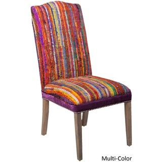 "Boulder Striped Side Chair (19.6"" x 22.5"" x 42.5"")"