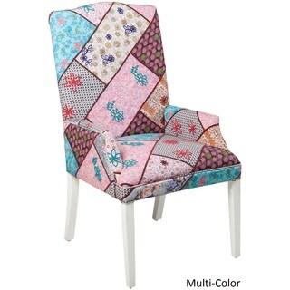 """Blagnac Floral Arm Chair (23.6 x 22.8"""" x 43.5)"""