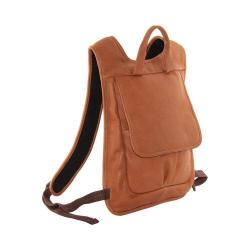 Piel Leather Honey Slim Laptop Flap Backpack