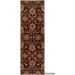 Hand-Tufted Patchway Wool Rug (3' x 12')
