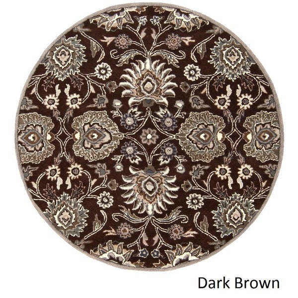 Hand Tufted Patchway Wool Rug (6u0027 Round)   Free Shipping Today   Overstock.com    17701875
