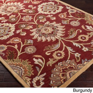 Hand-Tufted Patchway Wool Rug (7'6 x 9'6)