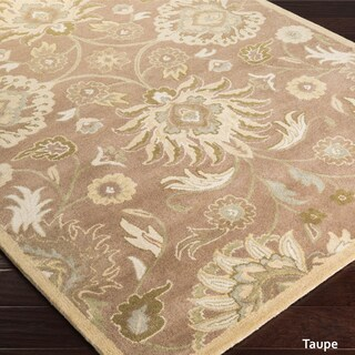 Hand-Tufted Patchway Wool Area Rug (6' x 9') (More options available)