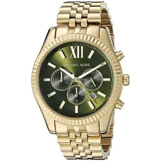 Michael Kors Men's MK8446 'Lexington' Chronograph Gold-Tone Stainless Steel Watch