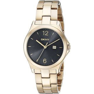 DKNY Women's NY2366 'Parsons' Gold-Tone Stainless Steel Watch