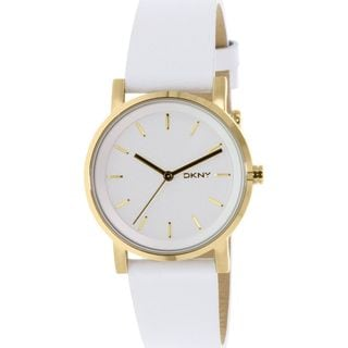 DKNY Women's NY2340 'Soho' White Leather Watch