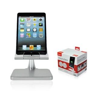 Elevated Desktop iPad Charging Station (Option: Silver)