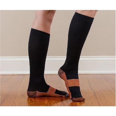 659c86f7eb7 Copper Infused Compression Socks
