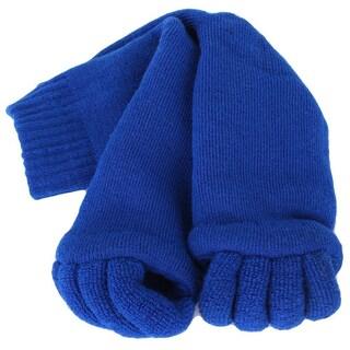 Women's Massaging Toe Separator Socks (Option: Blue)