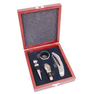 Wine Bottle Opener & Stopper Gift Set