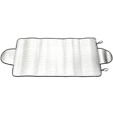 Vinyl Snow Windshield Cover - Silver