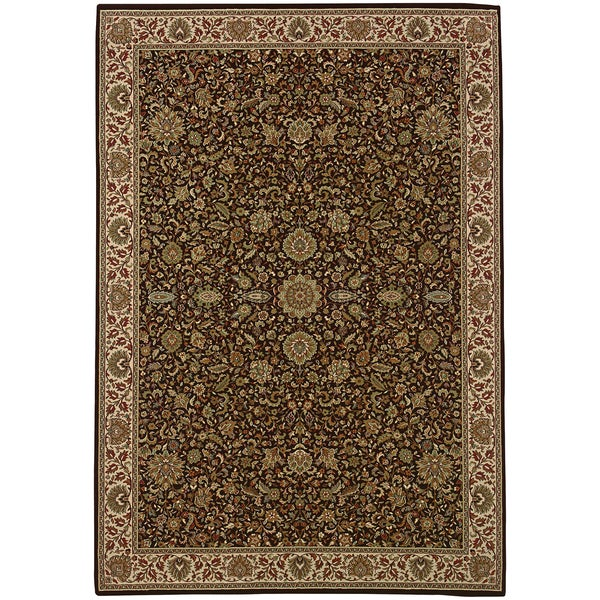 Shop Updated Old World Persian Flair Brown/ Ivory Area Rug