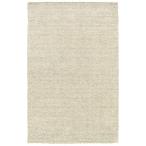 Handwoven Plush Wool Heathered Beige Rug (8' X 10') - 8' x 10'