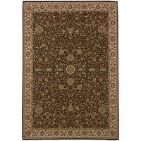 Updated Old World Persian Flair Red/ Ivory Area Rug (10' x 12'7) - 10' x 12'7""