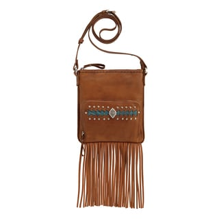American West 5115493 Moon Dancer Crossbody Bag