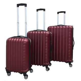Rivolite 3-Piece Hardside Expandable Spinner Luggage Set