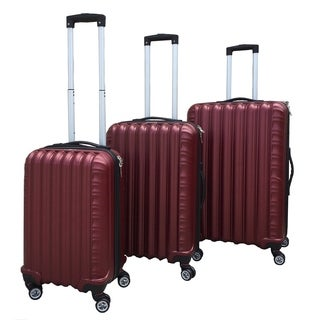 Rivolite 3-Piece Hardside Expandable Spinner Luggage Set