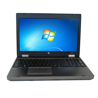 HP Probook 6565B AMD A4-3310MX 2.1GHz CPU 4GB RAM 320GB HDD Windows 10 Pro 15.6-inch Laptop (Refurbished)