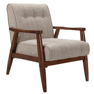 Durango Mid Century Fabric Accent Chair