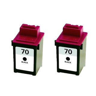 2PK 12A1970 ( #70 ) Compatible Ink Cartridge For Lexmark X125 X4212 X4250 X4270 X63 X73 X83 X85 (Pack of 2)